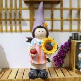 Het in het groot Mini Leuke Beeldje van de Gnoom voor de Decoratie van de Tuin