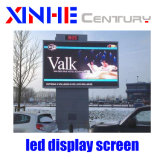 P10 LED fixo exterior Cores Video wall Visor LED