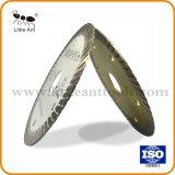 diamant de 4 le '' Turbo scie la lame pour le marbre en céramique de granit de tuile