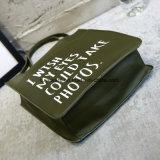 연약한 PU 쇼핑 백 바느질 여자 끈달린 가방 (TTE-015)