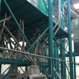 Norma Eropean completa linha 100t/24h fresadora de moagem de milho