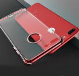 3-in-1 caja suave de la esquina reforzada clara transparente del teléfono del silicón TPU