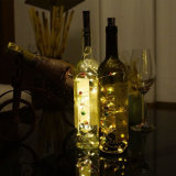 Wine Bottle DIY Starry string Light with Colorful Bell for Christams