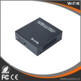 Interruptor de fibra com 1X 100Base-FX 8 x portas 10/100Base-T BIDI T1550/R1310nm SC 40km