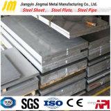 Plaque en acier de haute résistance structurale de machines d'ingénierie