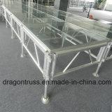 Verwendetes Aluminiumfaser-Glas-Stadium, Glasstadium mildernd