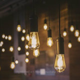 세륨, UL를 가진 E26 4W Edison 포도 수확 ST64 LED 필라멘트 전구는 승인한다