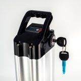 24V 10ah wenig silberne Fisch-Typ E-Fahrrad Batterie