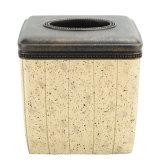 Einfache Form-Entwurfs-Badezimmer-Zusatzgeräten-Sets mit Sand Polyresin