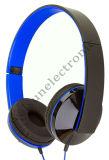 Alto auricular plegable de Perfomance con en la línea Mic y el control de volumen