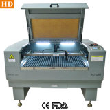 Acrílicos plásticos de madeira máquina de gravura a laser 1390