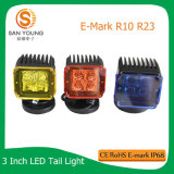 Indicatore luminoso del lavoro del fascio 4D LED dell'inondazione del punto del CREE dell'indicatore luminoso 10W del lavoro del LED