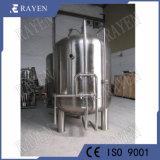 Medidas sanitarias de acero inoxidable vaso del filtro de carbón activado