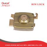 縁ロック夜ラッチは南アメリカの金属のドアロックにデッドボルトロックCerraduraをロックする