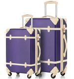 ABS popular do estilo britânico bagagem do vintage de 20/24 de polegada