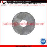 La norme DIN en acier inoxydable 440 de la rondelle plate de type R pour le bois de construction
