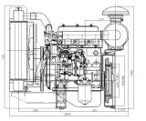 14HP 18HP 3cylinders zum Dieselmotor verwendet für Generator