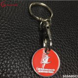 중국 공장 세관 모양 금속 Keychain /Key 꼬리표 또는 키 홀더