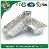 Navidad 2018 Hotsale Disponsable recipiente redondo Aluminio