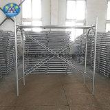 Kundenspezifisches Röhrenrahmen-Baugerüst des stahl-H für Gebäude