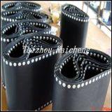 Schwarzes PTFE Fiberglas-fixierenmaschinen-Riemen