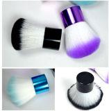 2017 Nuevo colorido pelo maquillaje Kabuki, cepillo de nylon