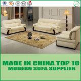 Sofá moderno simple contemporáneo de la sala de estar del cuero de los muebles de oficinas