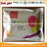 Absorção elevada e boa qualidade de produtos sanitários Lady Guardanapo Mulheres Guardanapo Sanitário