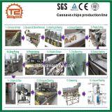 Linea di trasformazione dei chip della manioca e macchina di frittura