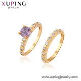 11478 anello aperto della perla dei monili dell'oro di modo 18K per le donne