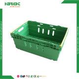Empilable de supermarchés en plastique de la Caisse de transport de fruits et légumes