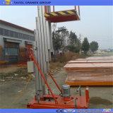 Plataforma de trabajo de la antena de aleación de aluminio