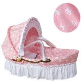 [بورتبل] طفلة مهد سلّيّ طفلة مهد [ويكر] طفلة ينام سلة