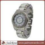 Form-beiläufiger Quarz-wasserdichte Armbanduhren