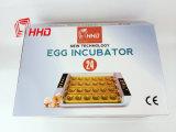 بيضة آليّة يلتفت مصغّرة 24 بيضات دجاجة محسنة