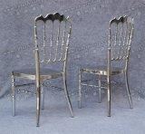 Stuhl neuer Art-Hersteller-stapelbarer silberner Chrom-Hochzeits-Phoenix-Napoleon Chiavari für Bankett und Hotel (YC-A09C)