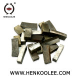 Corte de alta calidad de los segmentos de diamante de piedra de mármol granito