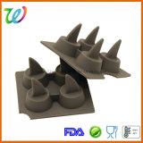Группа технического вазелина шоколад плавник акулы Ice Cube Maker лоток силиконового герметика пресс-формы