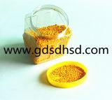 Gute QualitätsMasterbatch gelbe Farben-Plastikkörnchen