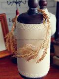 Fasce della principessa Tiara Handmade Bridal Headpiece degli accessori dei capelli di cerimonia nuziale dei monili dei capelli della fascia del foglio di oro (CR-02)