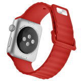 Abwechslungs-Uhrenarmband-Brücke für Silikon-Band Apple-Iwatch