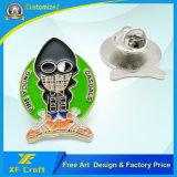 Fábrica OEM personalizados baratos insignia de alfiler de metal niquelado con cualquier diseño de logotipo (BG49-B).
