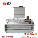 Máquina de desecación del lodo industrial automático de las aguas residuales del SUS