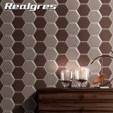 Cara lisa diseño hexagonal paredes y suelos de baldosas de cerámica