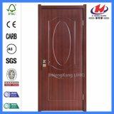 Нутряные деревянные двери PVC конструкции ванной комнаты (JHK-P01)