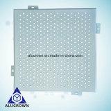 Precio más barato de Foshan Fabricante de Panel de aluminio perforado