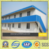 Edifício modular pré-fabricado no Worksite