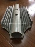 Profil d'extrusion d'alliage d'aluminium de radiateur pour la porte et le guichet 28