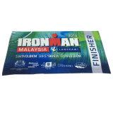 Essuie-main 100% de plage estampé réactif normal de coton d'Ironman