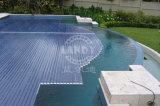 شفّافة [سويمّينغ بوول] تغطية تغطية آليّة